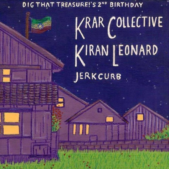 music broke my bones dig that treasure krar collective jerkcurb kiran leonard
